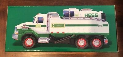 2017 HESS DUMP TRUCK AND LOADER - MINT Condition, NEW in Box
