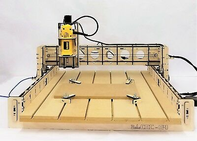 "BobsCNC E4 CNC Router Kit includes the DeWalt DW660 (24"" x 24"" cutting area)"