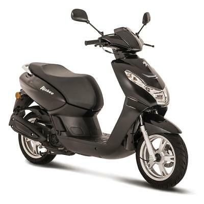 Peugeot Kisbee 50Cc Scooter - Black - Brand New - Unregistered - Free Topbox