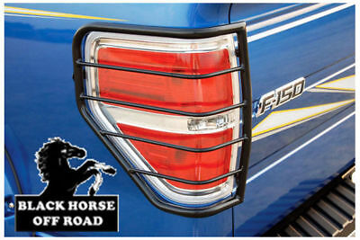 Black Horse Off Road Tail Light Guards for F-150 - 2009-2014 7FDF1A