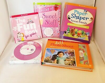American Girl Paper Shaper Forest Friends 3-D Craft Book & Doll Photo Shoot Kit