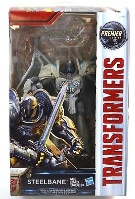 Transformers Steelbane Figure The Last Knight Deluxe Class 2016 Hasbro MISB