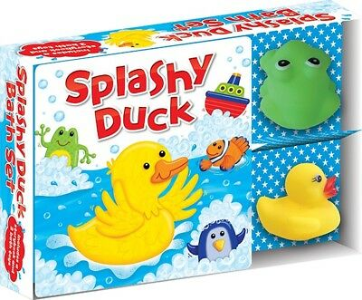 Splashy Little Duck Baby Bath set NEW!!!