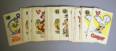 Casper Edu Cards Game Vintage Lot 35 Wendy The Good Little Witch