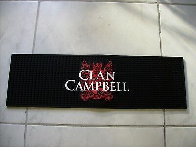Tapis de bar whisky CLAN CAMPBELL