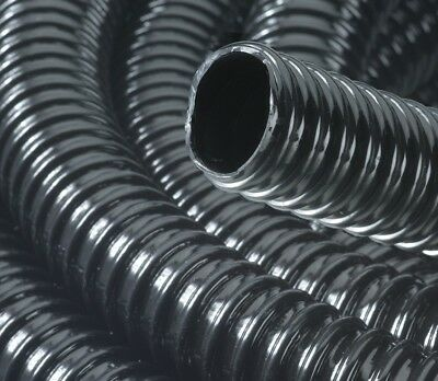 """5  Metre 1.25"""" 32mm Extra Strong Black Flexible Hose Fish Pond Pump Tube Pipe"""
