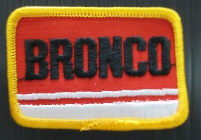"New Vintage Embroidered Vintage  Ford Bronco  2"" x 3""  Patch NOS (1970-1980)"