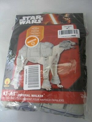 AT-AT Walker Pet Costume Star Wars Halloween Fancy Dress Size Large New