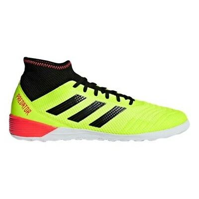 77c2a457a3c2 NEW Adidas Men s Predator Tango 18.3 IN Indoor Soccer Shoes Yellow DB2126