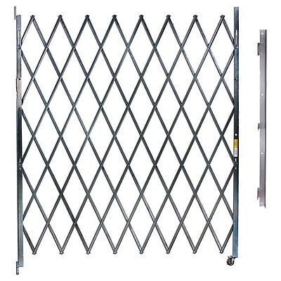 Single Folding Gate, 10'W to 11'W and 8'H, Lot of 1
