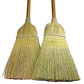 Warehouse Blend Broom - 28#, Lot of 2