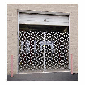 "Double Folding Gate, 12'W to 14'W and 7'6""H, Lot of 1"