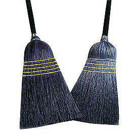 28#  Janitor Broom, Corn/Blend, Lot of 1