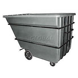 Bayhead 2.2 Cubic Yard Tilt Truck, Heavy Duty, 2500 Lb. Capacity, Gray, Lot of 1