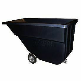Bayhead 1.1 Cubic Yard Tilt Truck, Light Duty, 600 Lb. Capacity, Black, Lot of 1