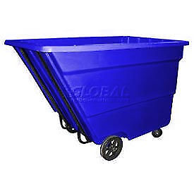 Bayhead 2.2 Cubic Yard Tilt Truck, Medium Duty, 2200 Lb. Capacity, Blue, Lot of