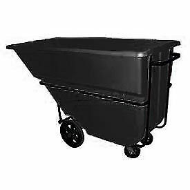 Bayhead 1.1 Cubic Yard Tilt Truck, Heavy Duty, 2100 Lb. Capacity, Black, Lot of