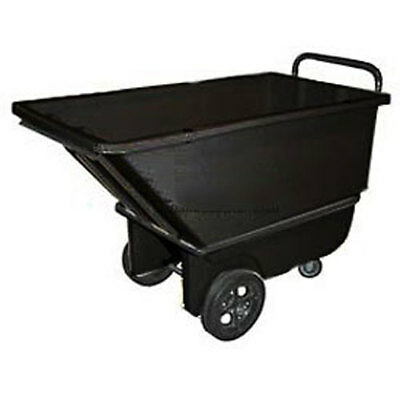 Bayhead 1/3 Cubic Yard Tilt Truck, Heavy Duty, 1200 Lb. Capacity, Black, Lot of