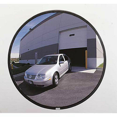 """160-Degree Outdoor Acrylic Convex Mirror W/Stainless Steel Back, 26"""" Dia., Lot"""