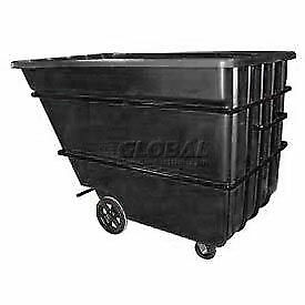 Bayhead 2.2 Cubic Yard Tilt Truck, Heavy Duty, 2500 Lb. Capacity, Black, Lot of