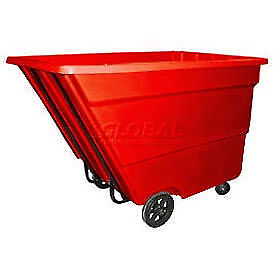 Bayhead 2.2 Cubic Yard Tilt Truck, Medium Duty, 2200 Lb. Capacity, Red, Lot of 1