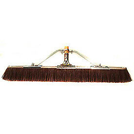 "29"" Floor Brush w/Brace & Handle, Brown, Lot of 1"