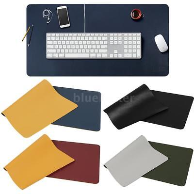 BUBM Mouse Pad PU Leather Computer Waterproof Anti-oil Desk Writing Mat A8H7