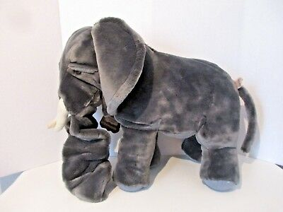 Folktails Large Plush Elephant Hand Puppet - New/Tags