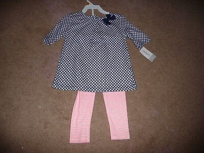 NEW NWT Carters girls size 3T tunic legging pant outfit CUTE!!