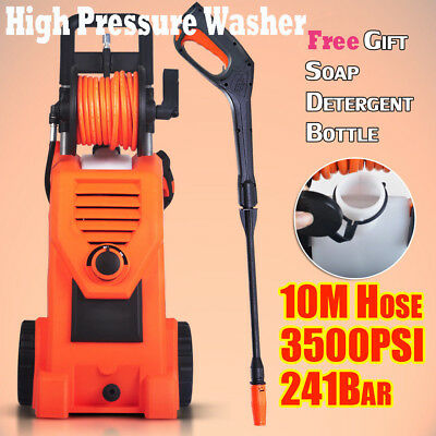 3500PSI Electric High Pressure Washer Water Pump Spray Water Cleaner Gun 10MHose