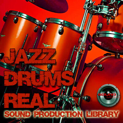JAZZ DRUMS REAL - large perfect Samples/Groove/Performances Library on DVD
