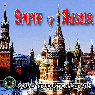 RUSSIA Spirit - HUGE UNIQUE original Multi-Layer Studio WAV Samples Library 2DVD