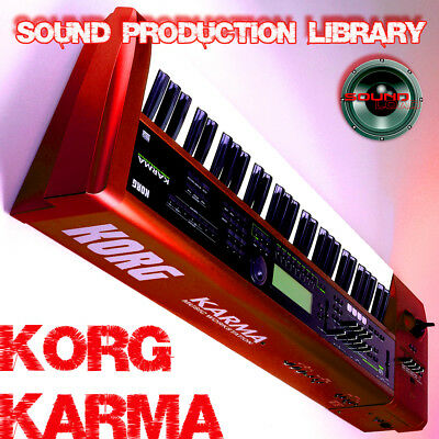 KORG KARMA - HUGE Unique Original Multi-Layer Samples Library on DVD