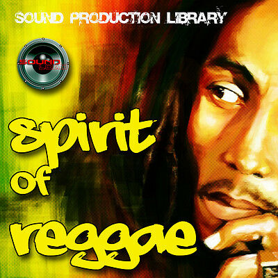 REGGAE Spirit - HUGE UNIQUE original Multi-Layer Studio WAV Samples Library DVD
