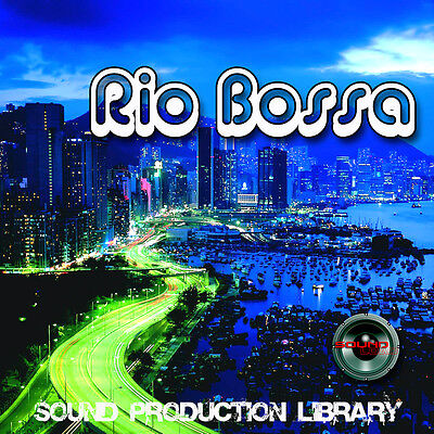 BOSSA RIO - UNIQUE Original Brazilian Multi-Layer Studio WAV Samples Library DVD