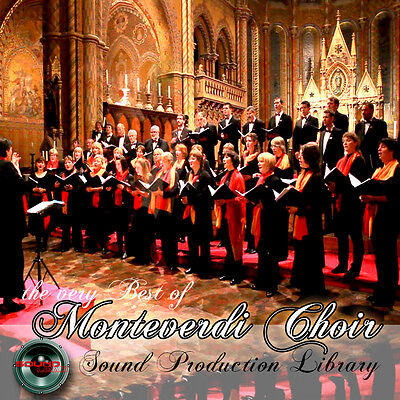 Monteverdi Choir - Perfect 24bit WAVE Multi-Layer Studio Samples Library on DVD
