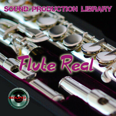 Flute Real - Large Unique Original Multi-Layer Studio Samples Library on 2DVD