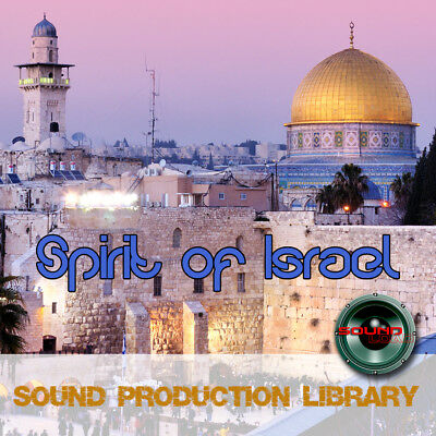 Israel. Spirit or israel -large original Wav/Kontakt Samples Production Library