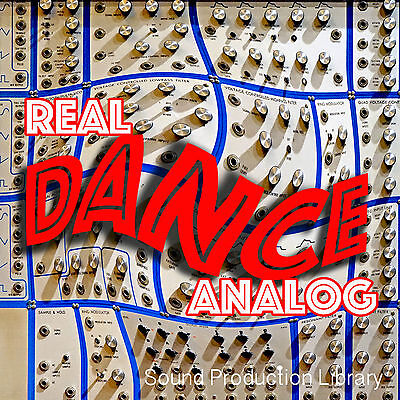 REAL DANCE ANALOG - Large Samples/Loops/Grooves Production Library 8.6GB