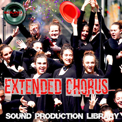 EXTENDED CHORUS - HUGE Unique Original Multi-Layer Samples Library on DVD