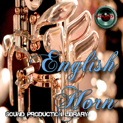 ENGLISH HORN REAL - UNIQUE Perfect WAVE/NKI Multi-Layer Samples Library on 3 DVD