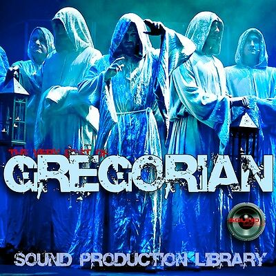 GREGORIAN MONKs - Perfect 24bit WAVE Multi-Layer Studio Samples Library on DVD