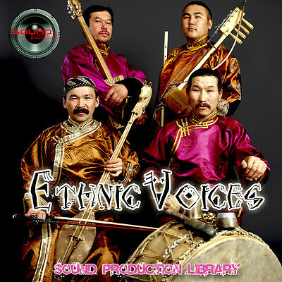 ETHNIC VOICES REAL - Perfect WAVE/NKI Multi-Layer Studio Samples Library on CD