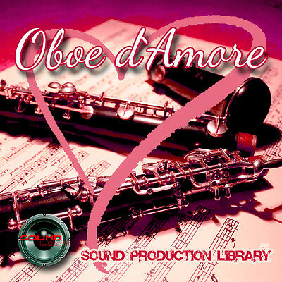 OBOE d`AMORE - UNIQUE Perfect WAVE/NKI Multi-Layer Samples Library on DVD