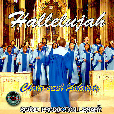 Hallelujah WorshipChoir - Perfect WAVE Multi-Layer Studio Samples Library on DVD
