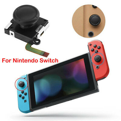 For NS Nintendo Switch Joy-Con Controller 3D Stick Rocker Analog Joystick Thumb