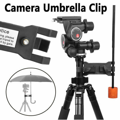 Photography Camera Lighting Umbrella Holder/Clamp Clip for Tripod Light Stand LJ