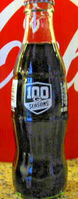 2018 Green Bay Packers 100 Seasons 8 Fl Oz Coca - Cola Glass Bottle