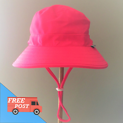 Seconds Kids Bucket Swim Sun Hat Baby Girl Toddler Eco Friendly UPF 50+