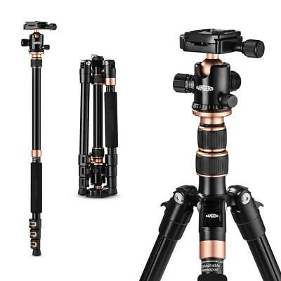 Rangers 57 Ultra Compact and Lightweight Aluminum Tripod with 360 Panorama Ba...